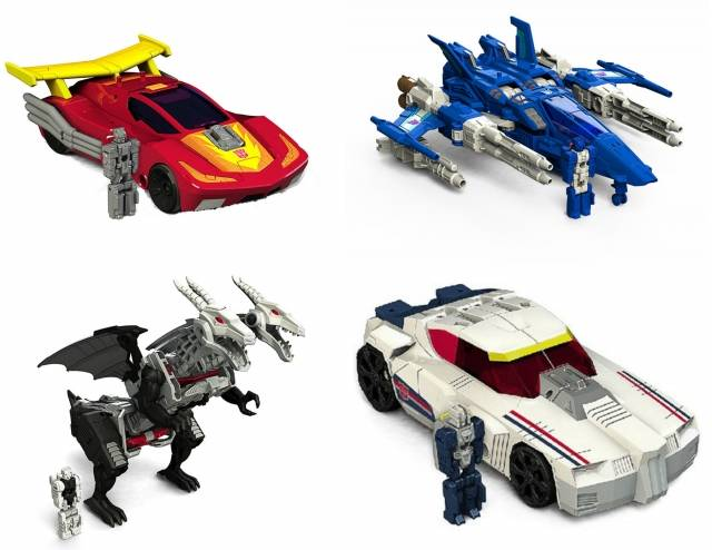 Titans Return 2016 - Deluxe Wave 3 - Set of 4