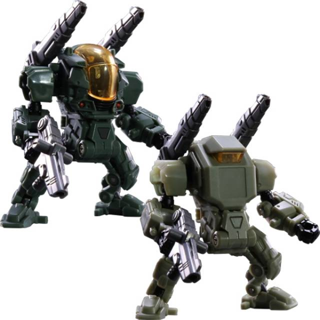 Diaclone Reboot - Powered-Suit Set - Marine Corps Version