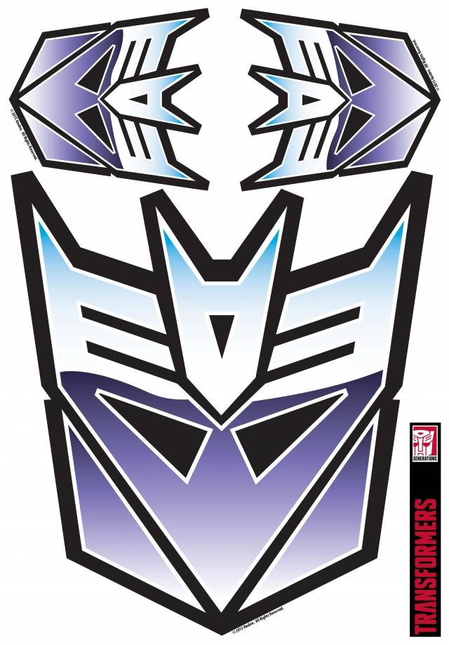 Transformers - Decepticon Full Color Car Graphics Set