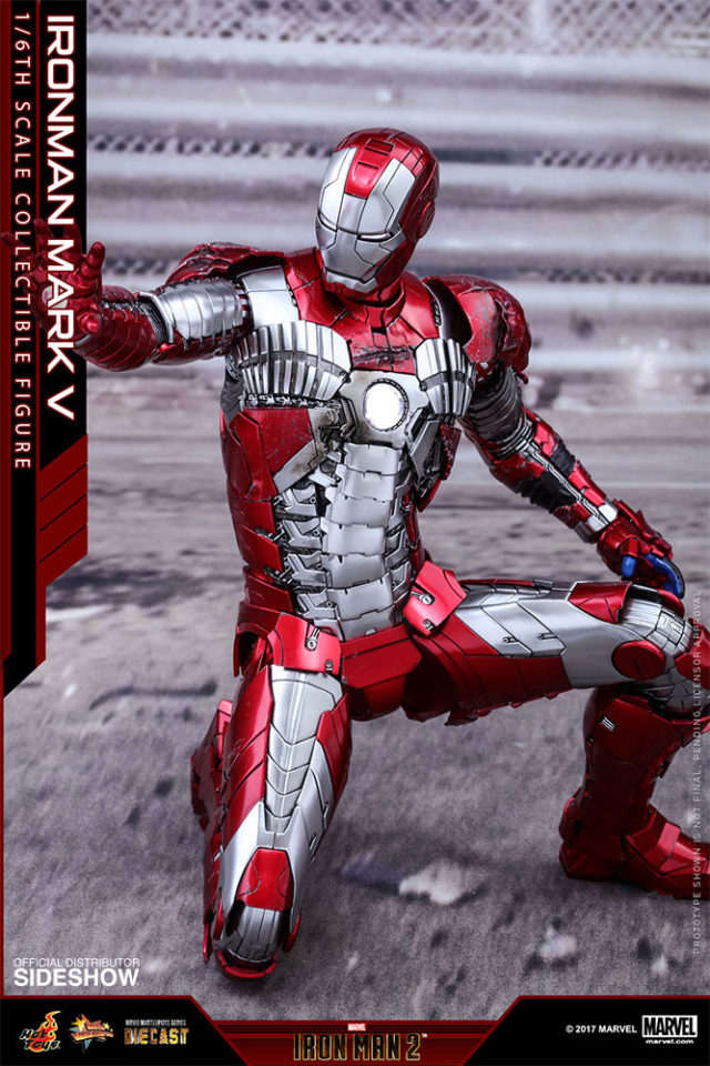 Hot Toys MMS400 Iron Man Mark V Articulation