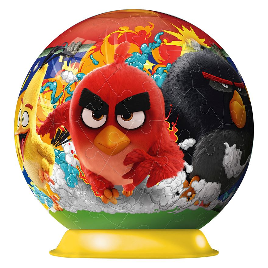 Angry Birds 3D Jigsaw Puzzle