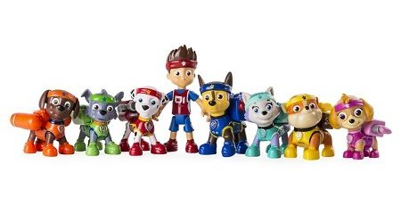 All Stars Pups Action Pack