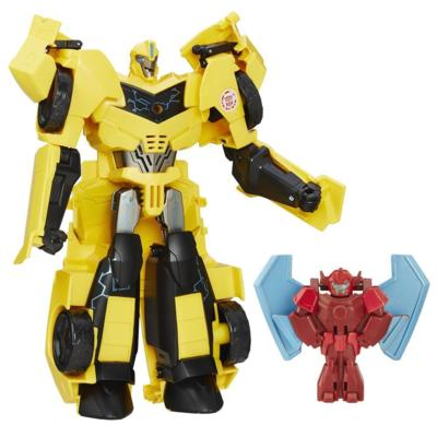 Robots in Disguise Power Surge Bumblebee and Buzzstrike